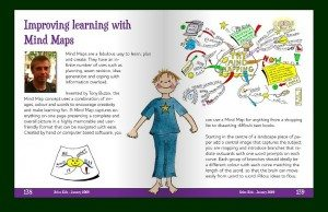 Mind Map Article in Relax Kids Magazine
